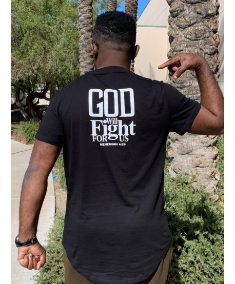 God Fight For Us T-Shirt